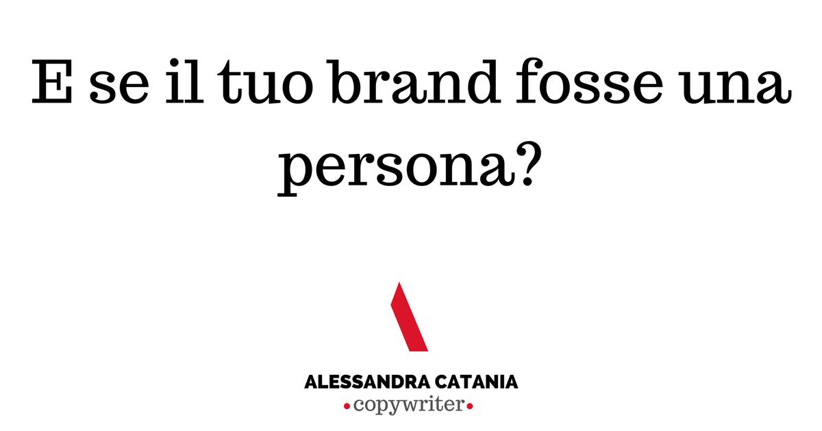 brand personality alessandra catania